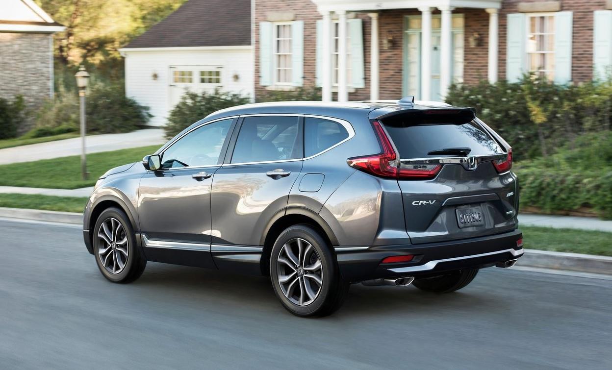 Honda CR-V Touring 2021 resena opiniones