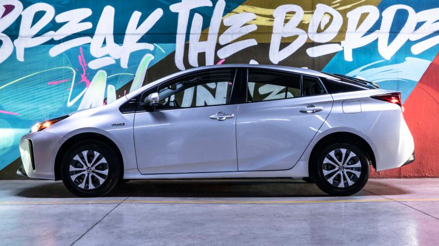 El diseño de este coche ayuda a obtener un destacado comportamiento aerodinámico