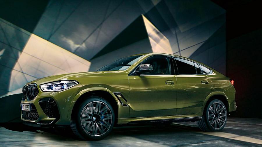 La versión más capaz de la BMW X6 se ubica en el cuarto puesto