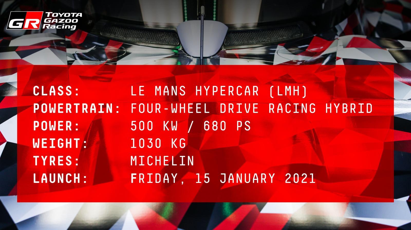 Toyota Le Mans Hypercar