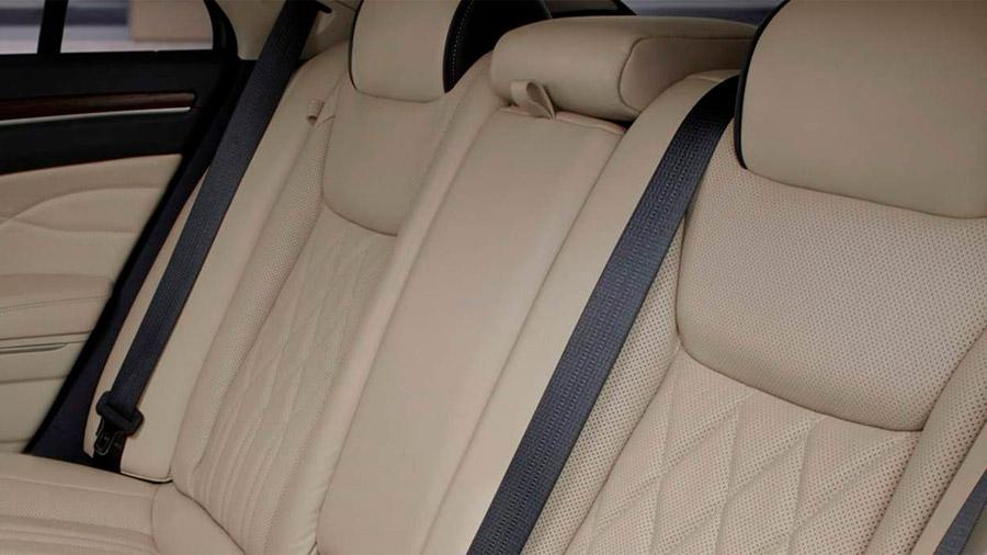 Todos los asientos ofrecen calefacción para un viaje más cómodo