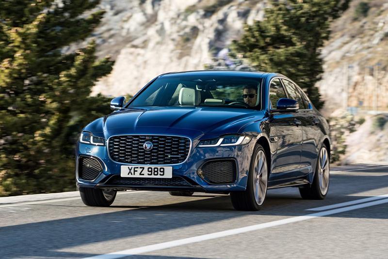 Jaguar XF R-Dynamic HSE 2021 resena opiniones