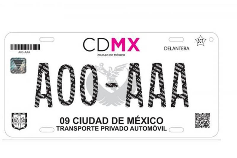 Cambio de placas CDMX 1