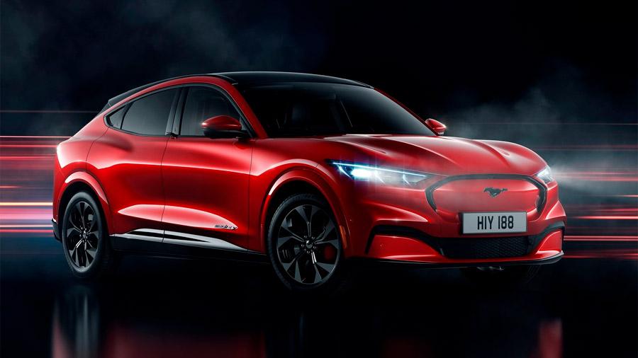 La Ford Mustang Mach-E es la primera SUV eléctrica de la marca estadounidense