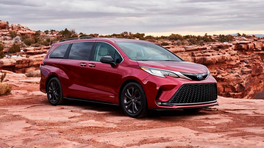 También llegará una nueva generación de la Toyota Sienna