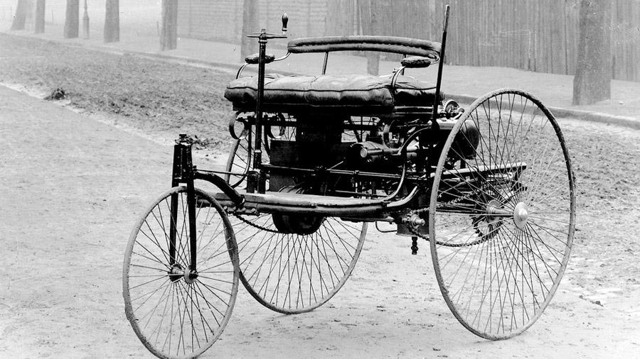 Este vehículo data de la década de 1880