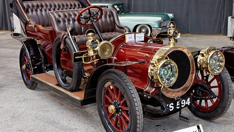 En México, el primer auto que rodó por las calles fue el Delaunay-Belleville