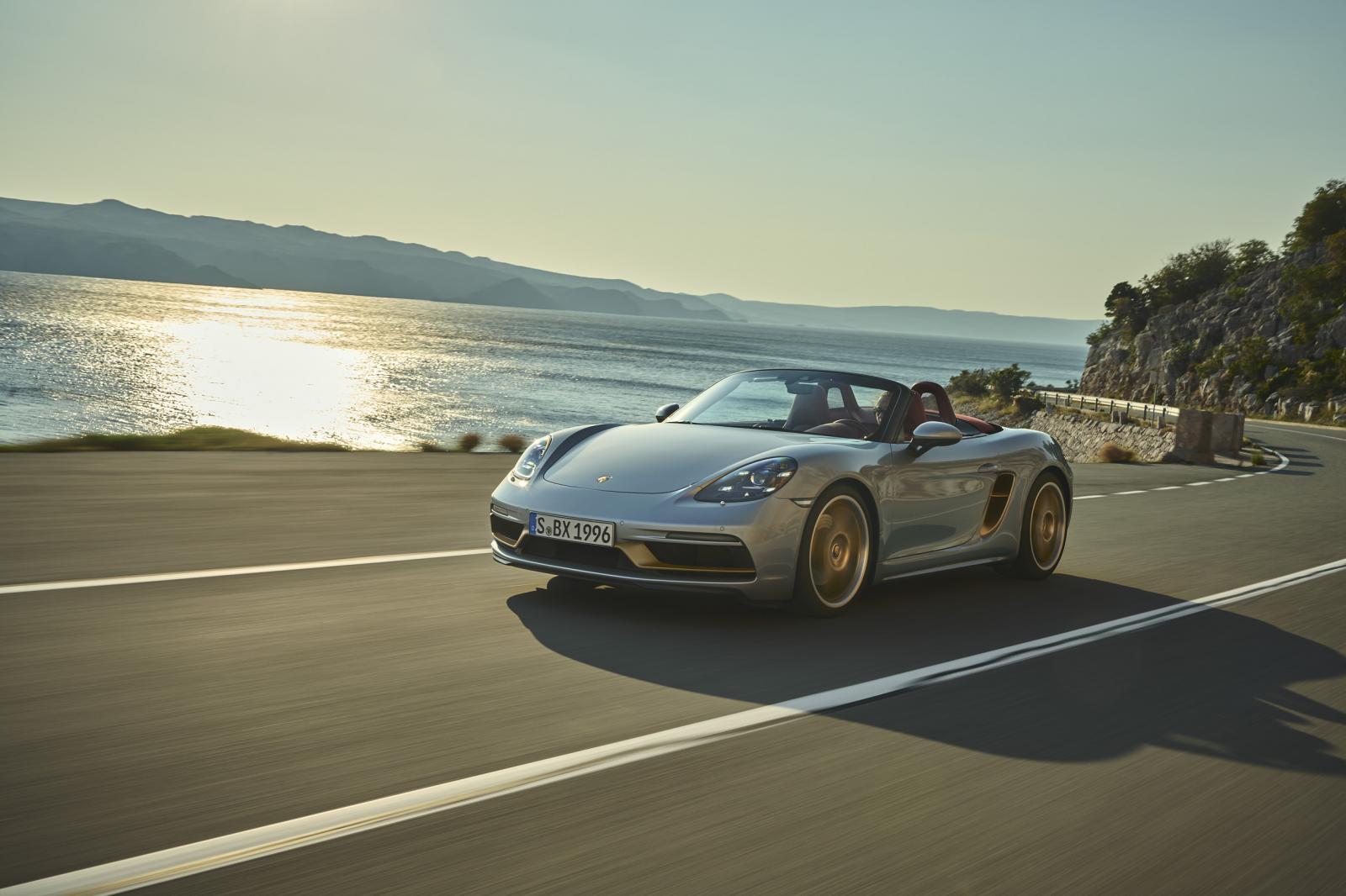 Porsche 718 Boxster 25° aniversario