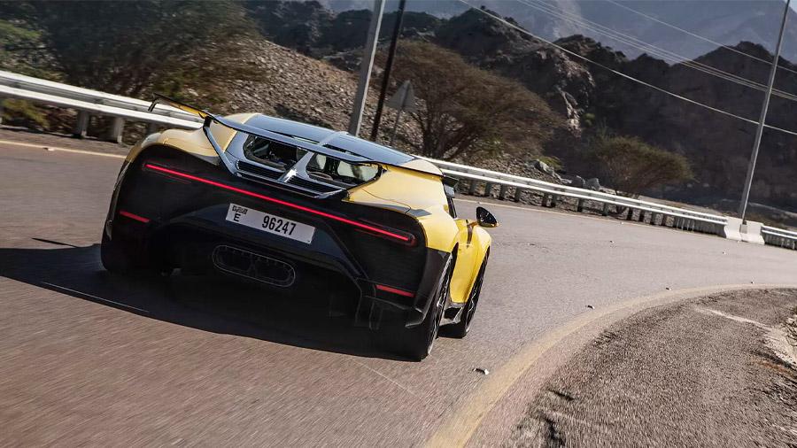 Andy Wallace explotó las virtudes de la creación de Bugatti