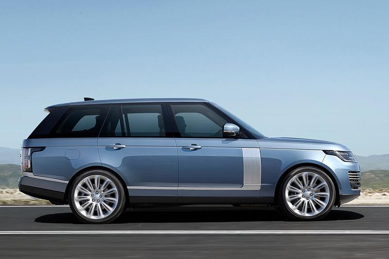 Land Rover Range Rover perfil