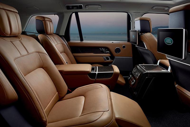 Land Rover Range Rover espacio interior