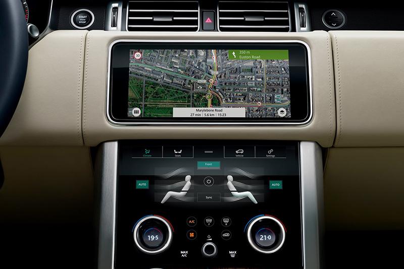 Land Rover Range Rover navegación