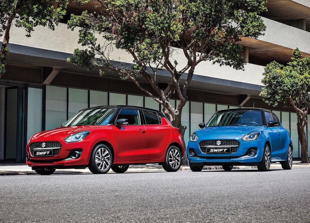 Suzuki Swift Boosterjet Manual 2021 resena opiniones