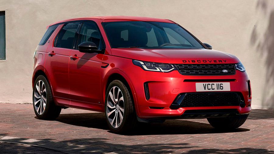 SUV de lujo: La Land Rover Discovery Sport sobresale por su capacidad off-road