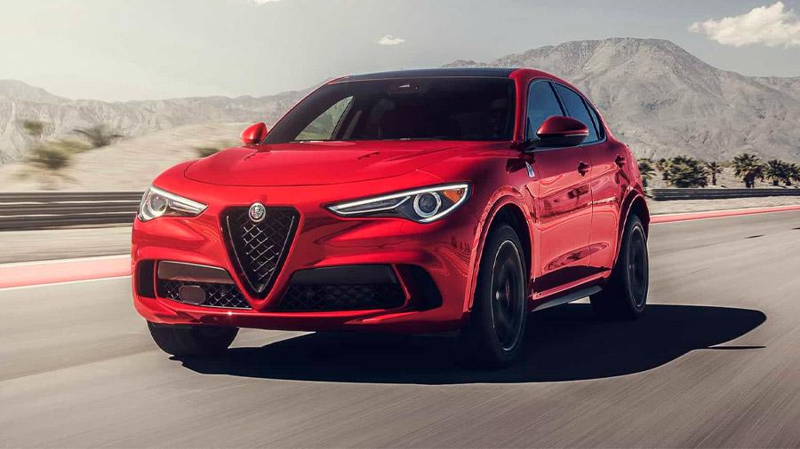 SUV de lujo: La Alfa Romeo Stelvio es una de las opciones para quienes buscan emociones al volante