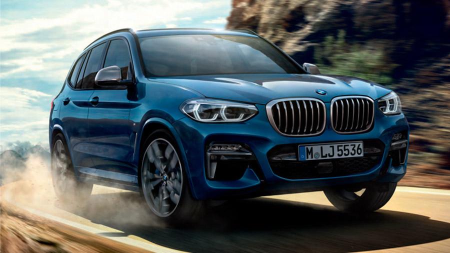 SUV de lujo: La BMW X3 destaca por la eficiencia de sus motorizaciones
