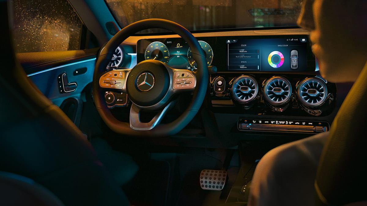Mercedes-Benz Clase CLA 2021 interior