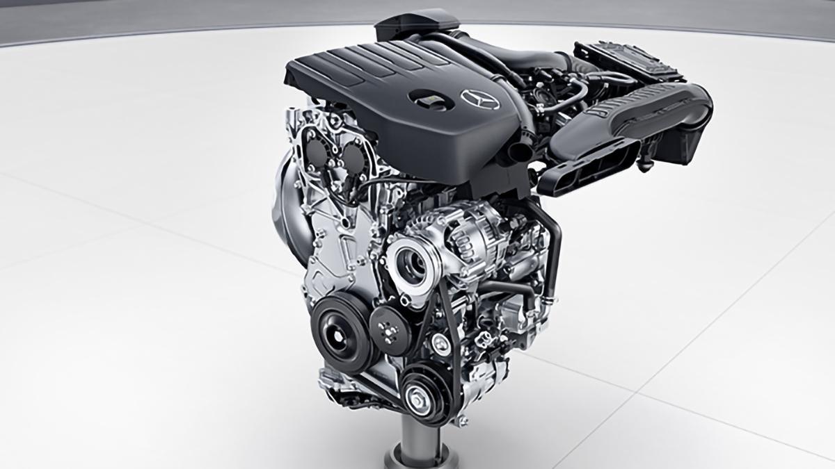 Mercedes-Benz Clase CLA motor