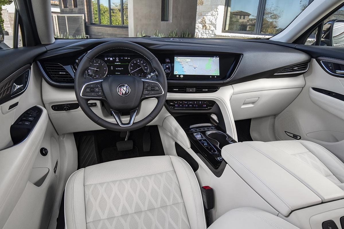 Buick Envision 2021 interior