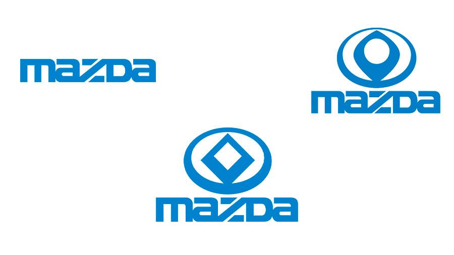 La tipografía Mazda surgió a mediados de la década de los 70