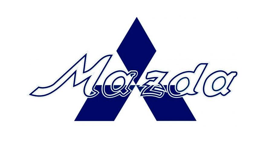 El segundo logo de la firma agregó el nombre de la marca con letras transparentes