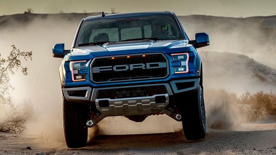 La Ford Raptor es una de las camionetas más salvajes en el off-road