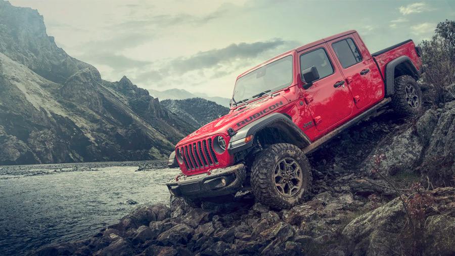La Jeep Gladiator destaca por su gran personalidad y sobrada capacidad off-road