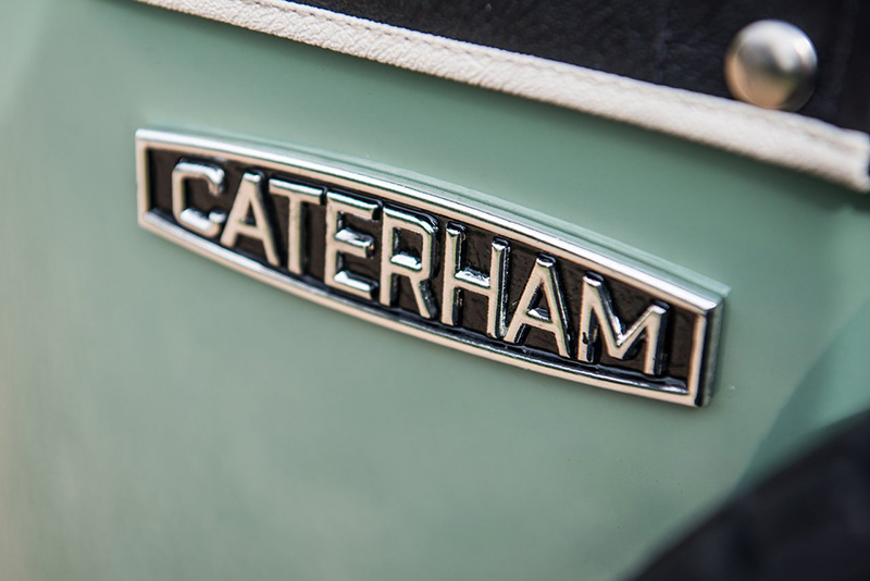Caterham cars logo
