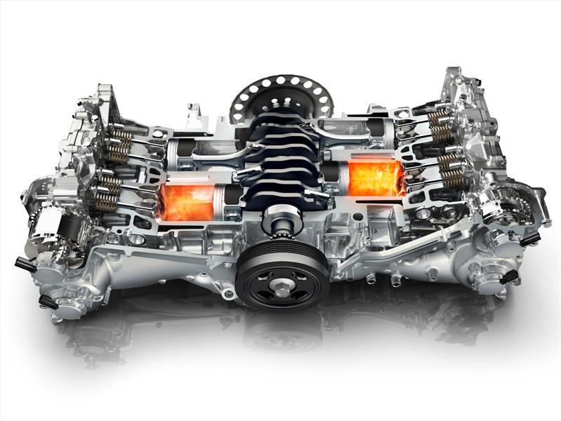 Tipos de motores: Motor bóxer