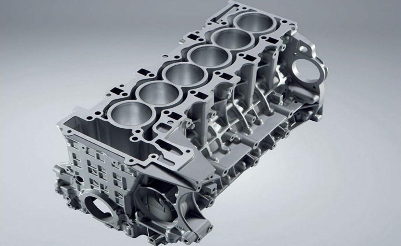 Tipos de motores: Motor en línea