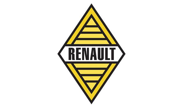 El logo de Renault con el diamante