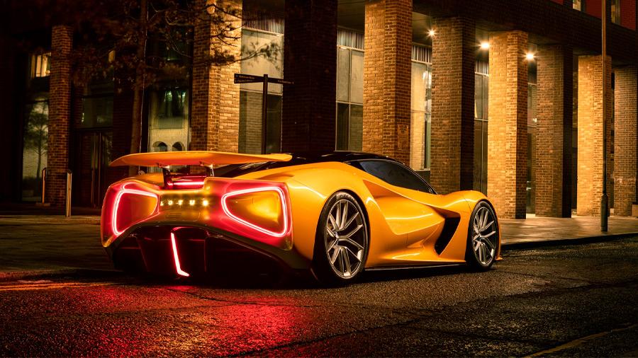 El Lotus Evija vio la luz en 2019