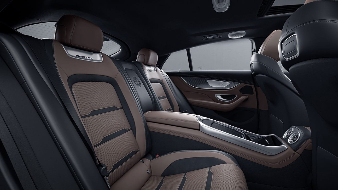 Mercedes-AMG GT 4-Door Coupé 2021 Reseña 9