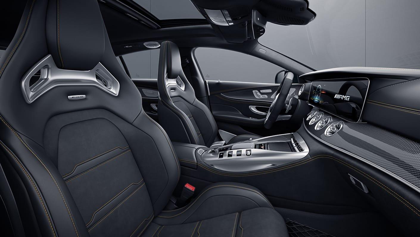 Mercedes-AMG GT 4-Door Coupé 2021 Reseña 11