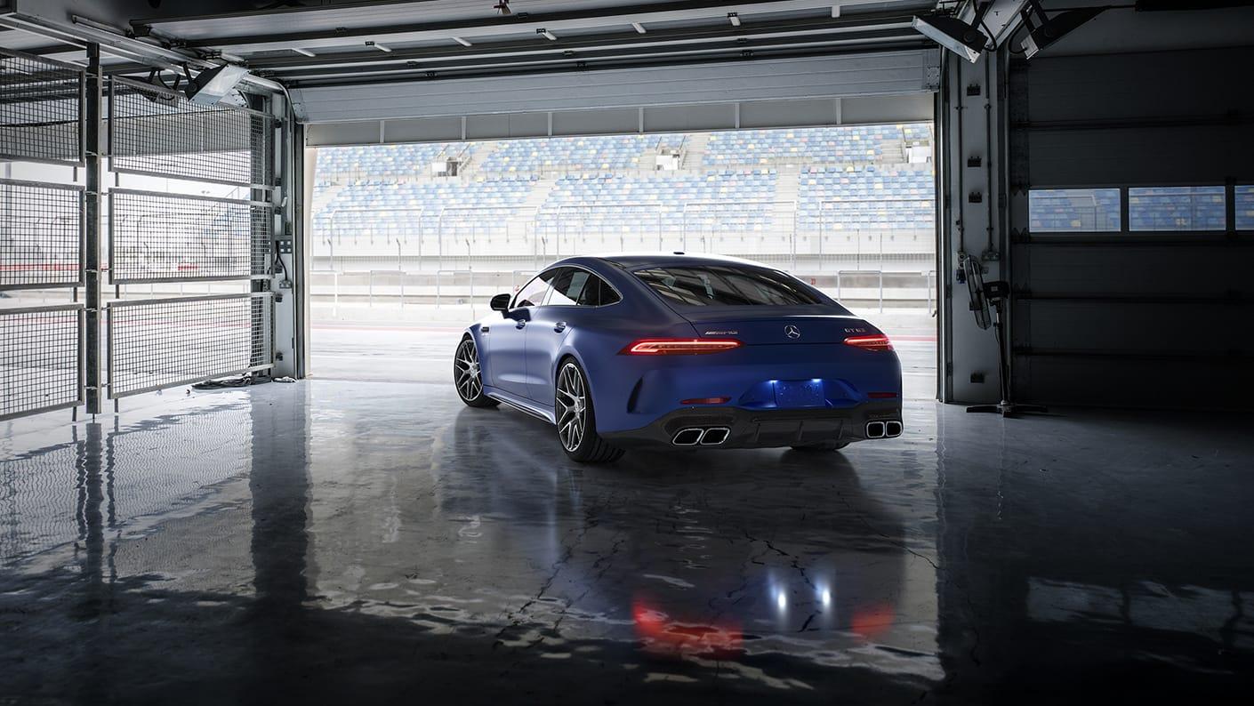 Mercedes-AMG GT 4-Door Coupé 2021 Reseña 4