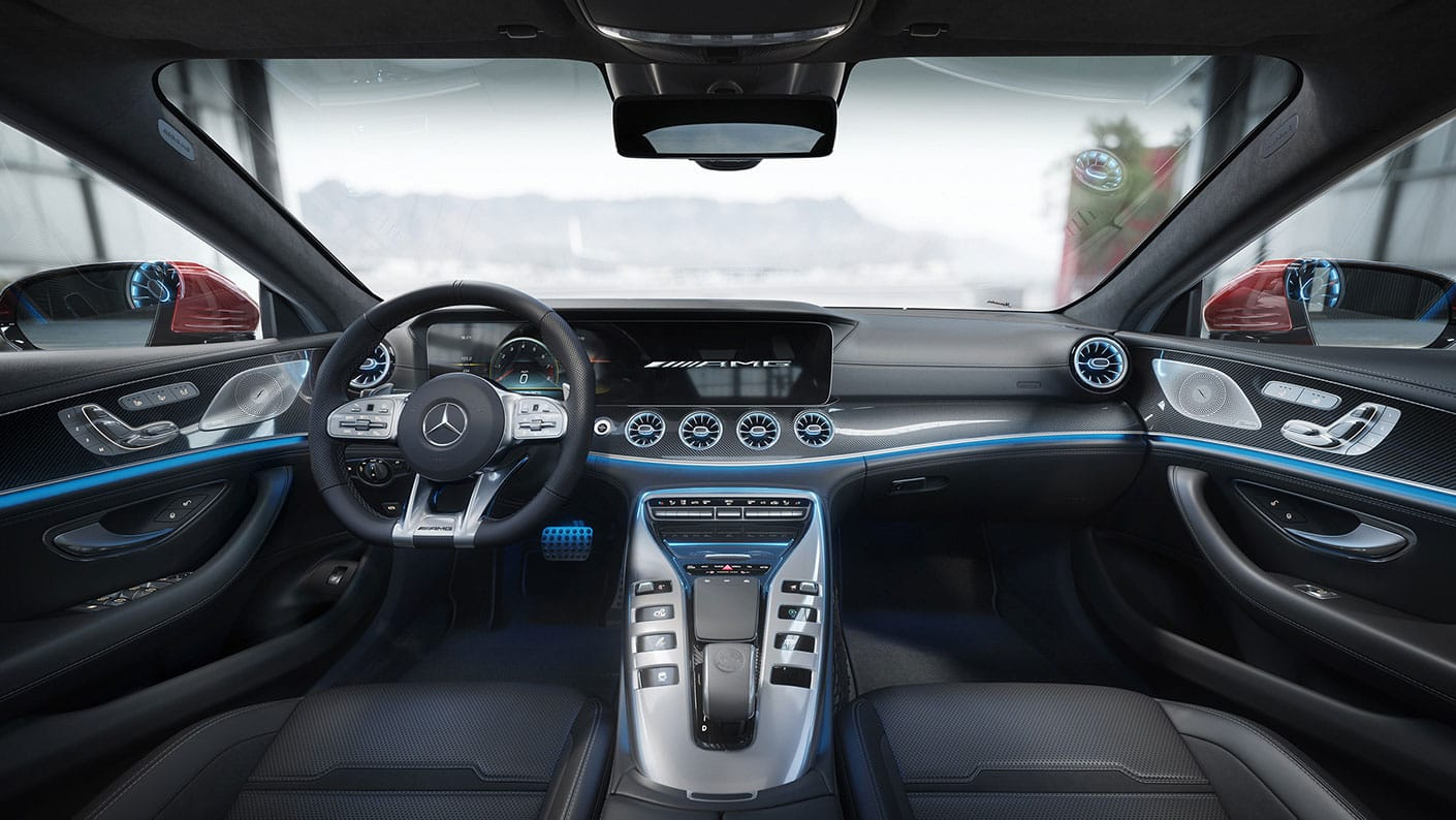 Mercedes-AMG GT 4-Door Coupé 2021 Reseña 8