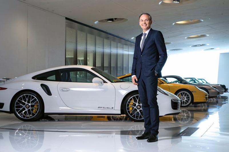 Oliver Blume Porsche