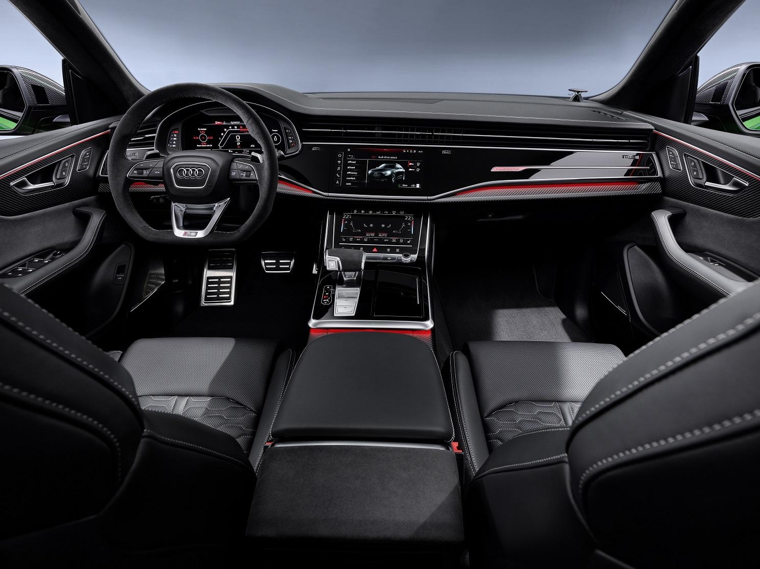 Audi RS Q8 2021 Reseña 5