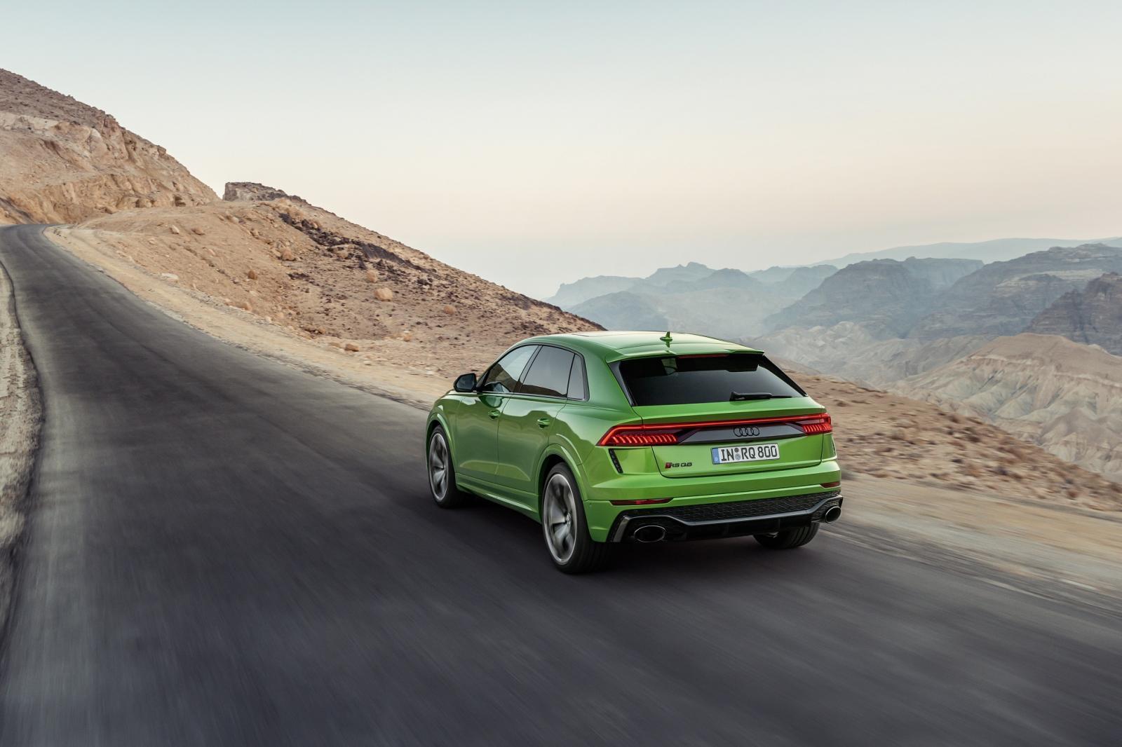 Audi RS Q8 2021 Reseña 10