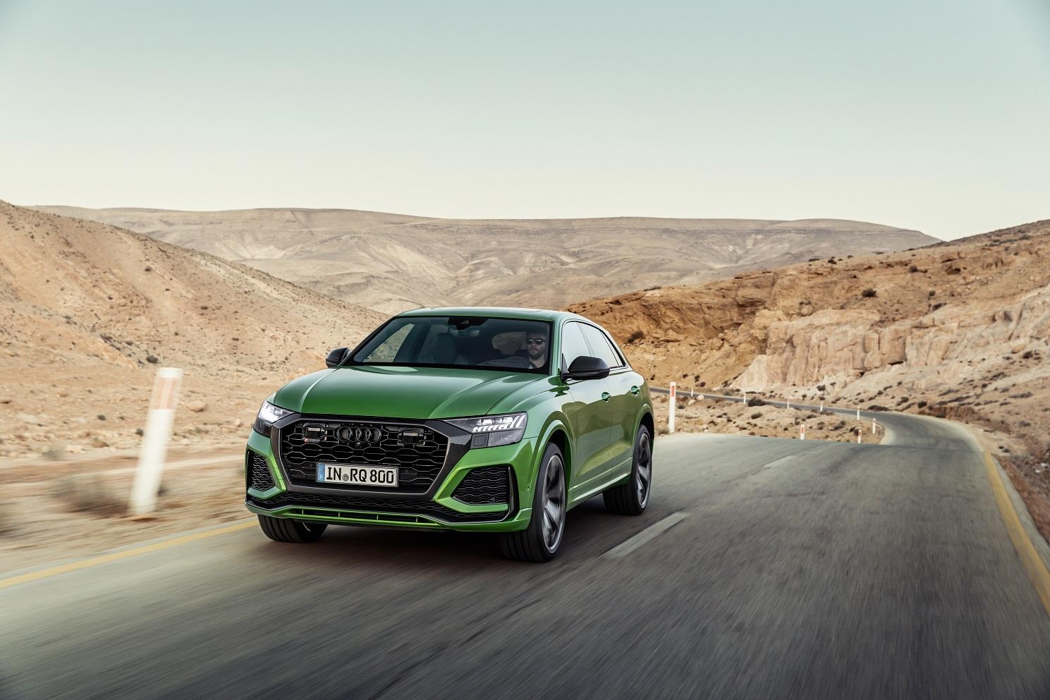 Audi RS Q8 2021 Reseña 1