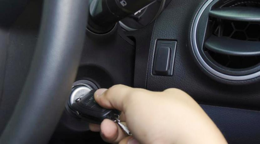Sistema de encendido de un automóvil 1