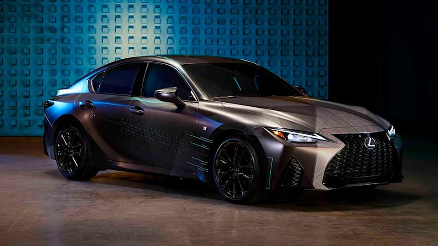 La marca desarrolló este auto gamer como parte de la promoción del Lexus IS 2021