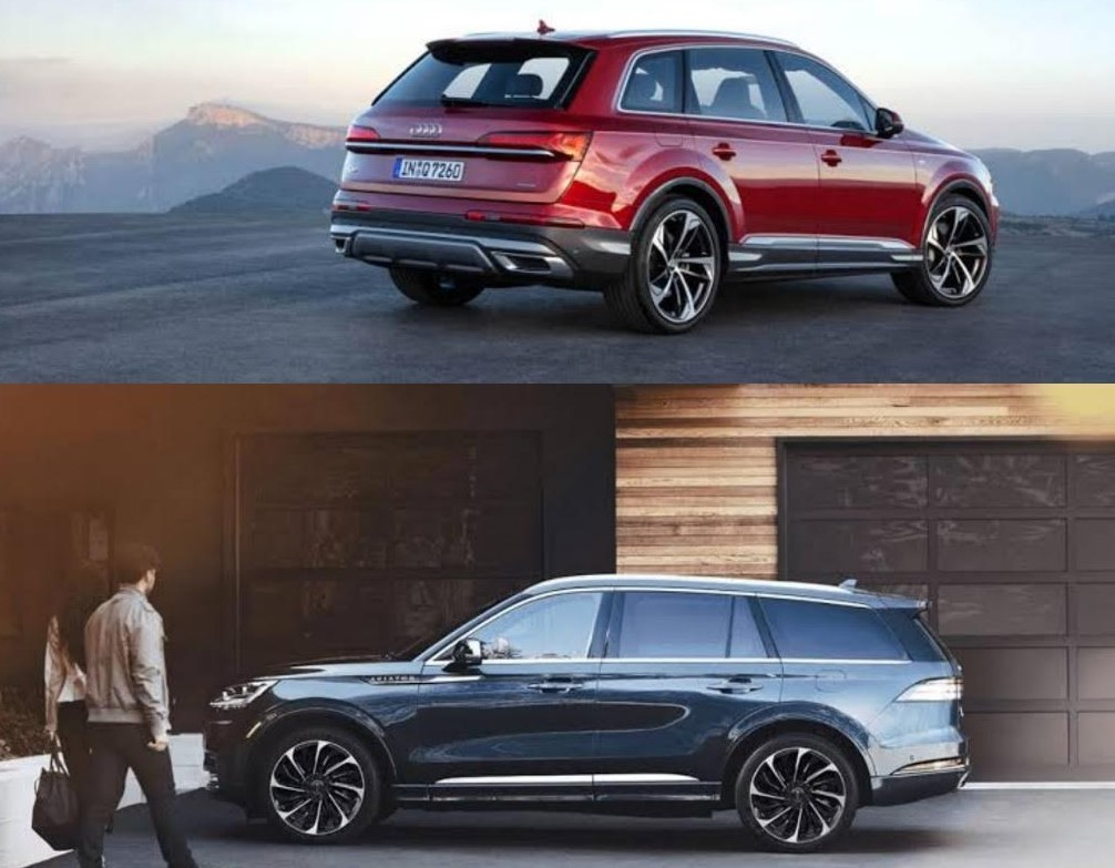Audi Q7 55 TFSI S line 2021 vs. Lincoln Aviator 2021