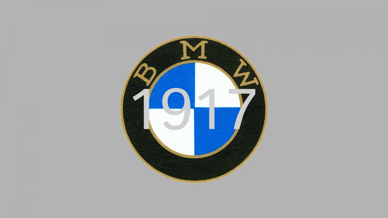 logo de BMW 1917