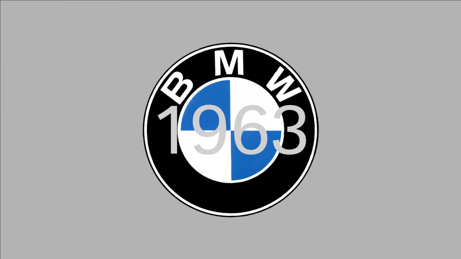 logo de BMW 1963