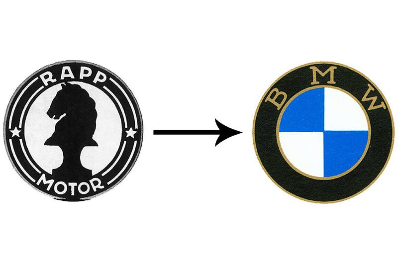 logo de BMW Rapp Motorenwenke BMW