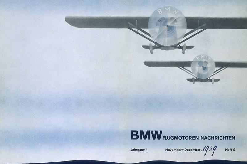 logo de BMW: Anuncio BMW M1929