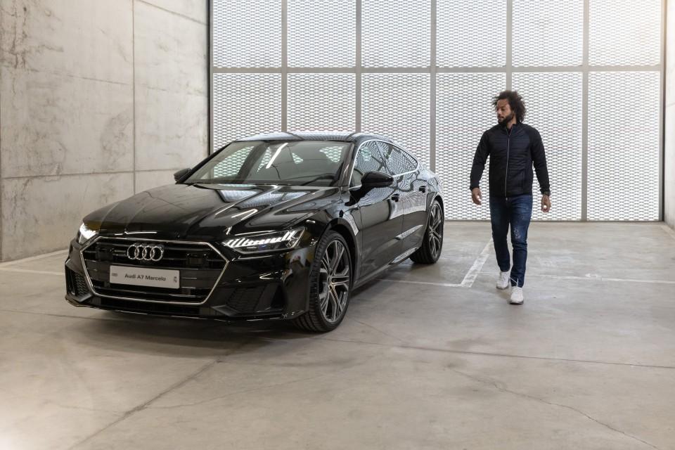 Audi entregó nuevos autos a jugadores del Real Madrid