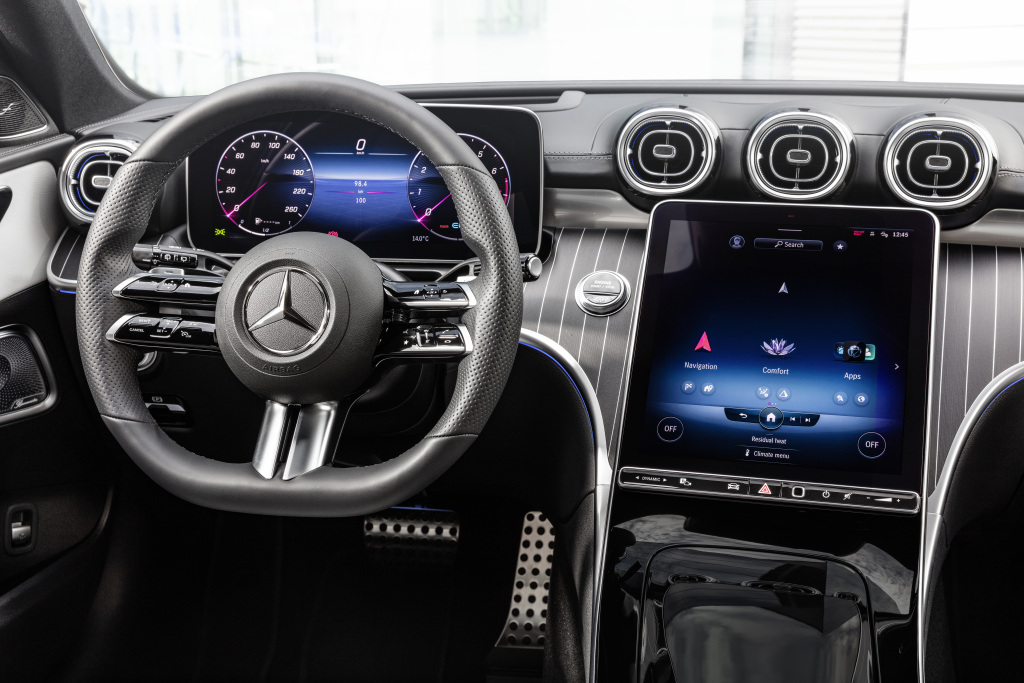 Mercedes-Benz Clase C interior