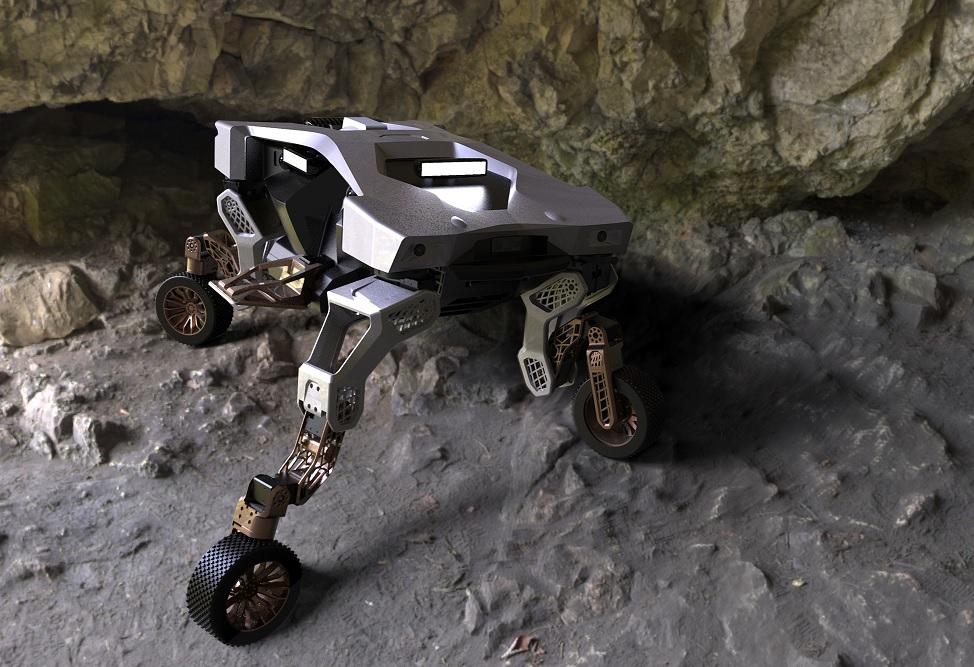 Video: Hyundai Tiger, el robot para los caminos más complicados